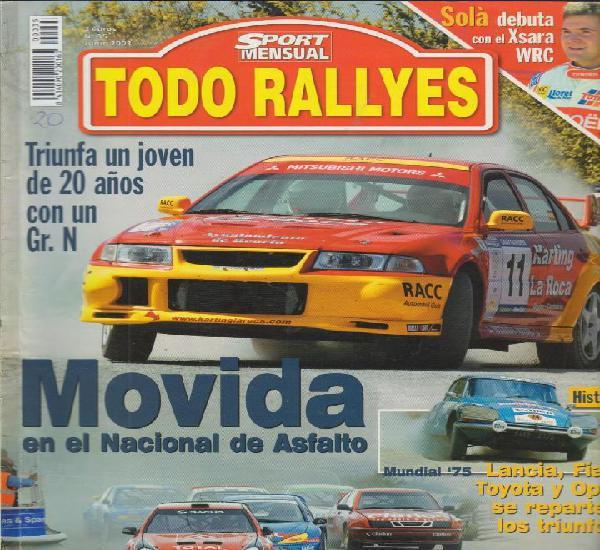 Revista todo rallyes nº35 junio 2003