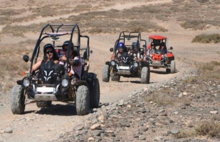 Regala una experiencia en buggy o quad