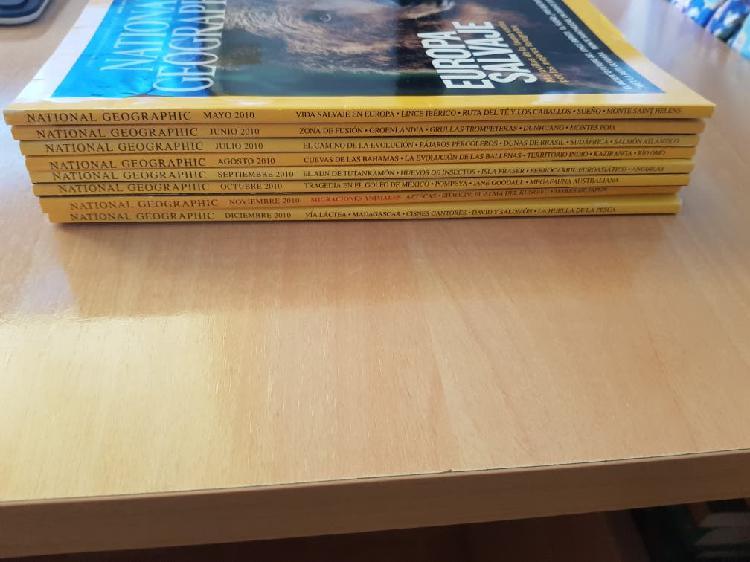 Revistas national geographic 2010-2013