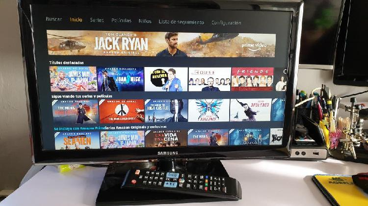 "Smart tv samsung 22"""