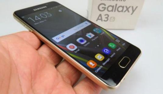 Samsung Galaxy A3 Dorado