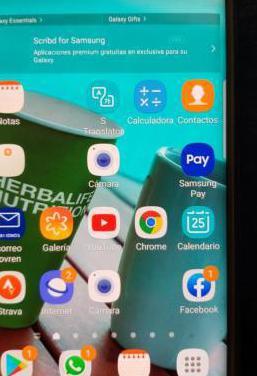 Samsung s6 edge plus impoluto