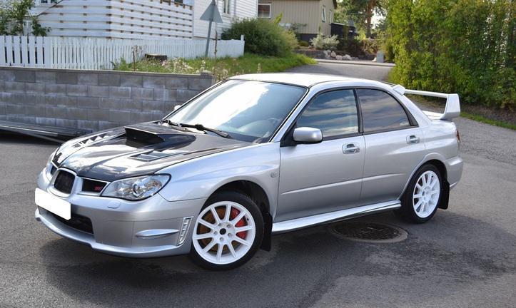 Subaru impreza wrx sti 2007