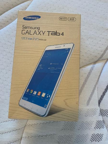 """Tablet 7"""" samsung galaxy tab 4"""