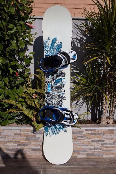 Tabla snowboard burton twc standard + fijaciones