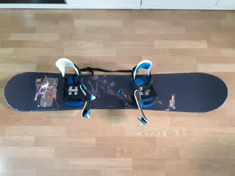Tabla snowboard + botas