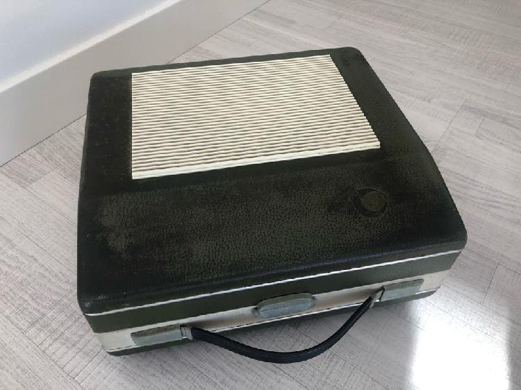 Tocadiscos portatil antiguo cosmo