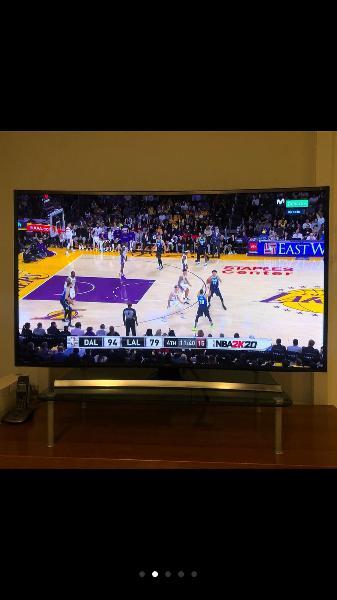 "Tv 55"" samsung 4k ultra hd curvo con 3d y smart tv"