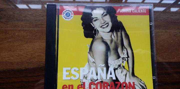 Verano caliente vol. 16 / españa en el corazon, cd de 1993