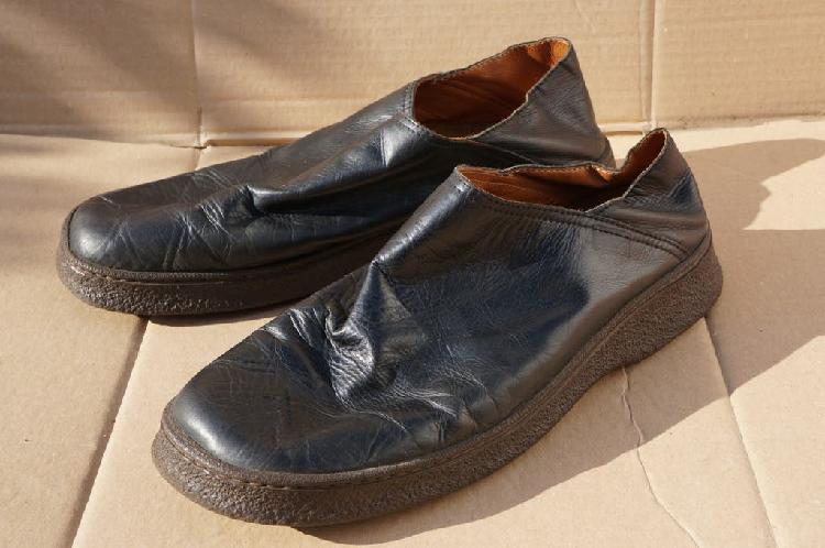 Zapatos / zuecos camper contact earth piel t. 44