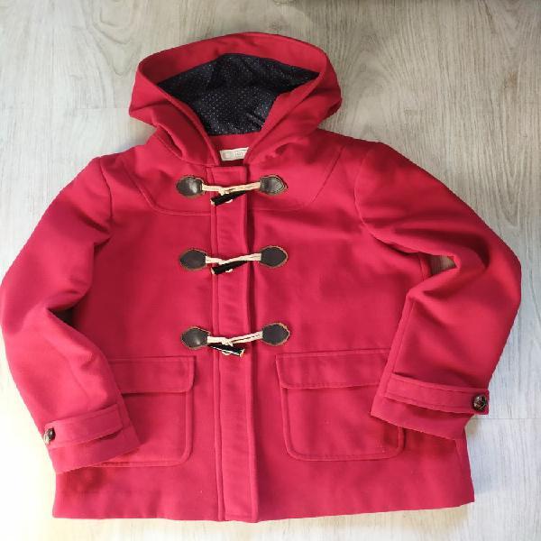 Abrigo chaquetón con capucha