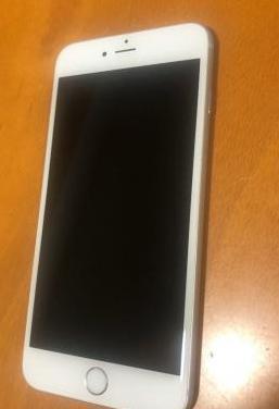 Iphone 6s plus blanco plata