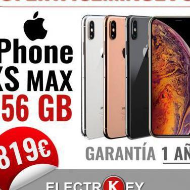 iPhone XS Max 256GB Seminuevo. 1 Año Garan.