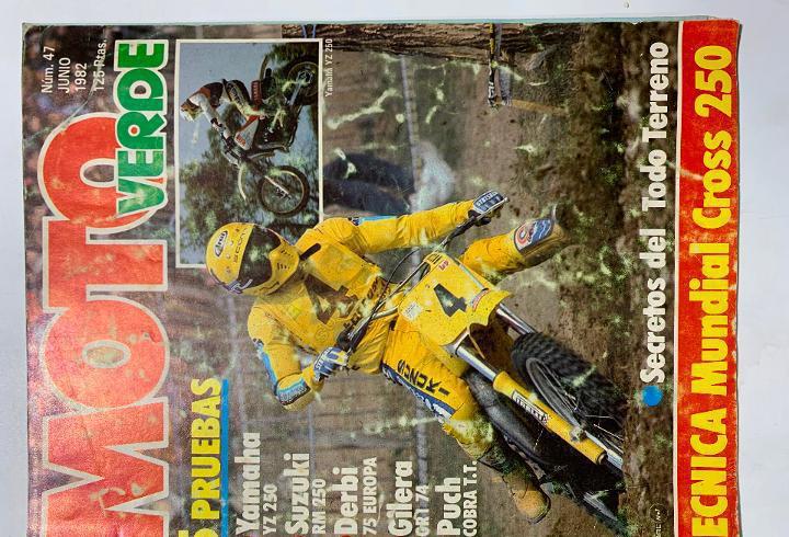 revista moto verde nº 47 derbi 75 europa puch cobra tt