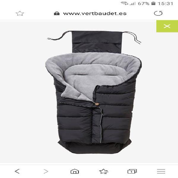 Saco acolchado forro polar para silla paseo