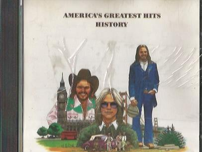 America. greatest hits. history. warner 1986.
