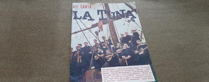 Asi canta.. la tuna - cancionero nº 3 editorial alas