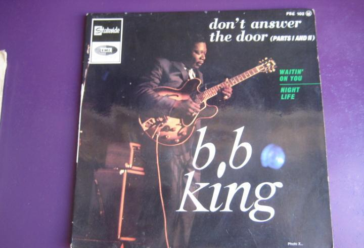 B.b. king ep stateside francia 1967 - don't answer the door