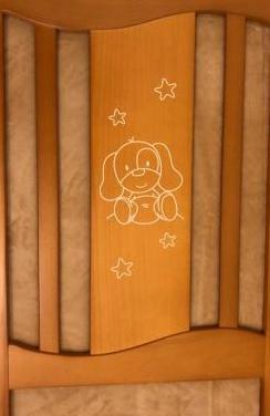 Cuna micuna 60x120 colchón a estrenar