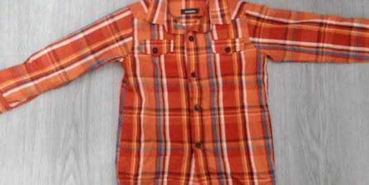 Camisa niño manga larga