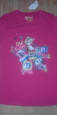 Camiseta rosa talla 14