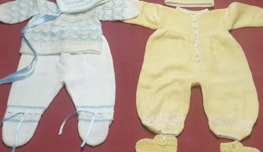 Conjuntos punto bebé