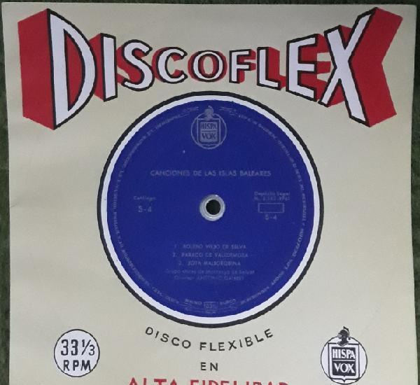 Disco flexible canciones de las islas baleares