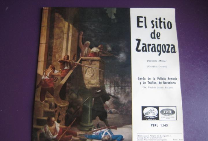 El sitio de zaragoza sg emi 1958 - banda policia armada y