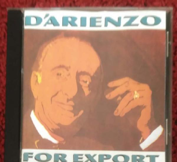 Juan d'arienzo y su orquesta tipica (for export) cd 1990