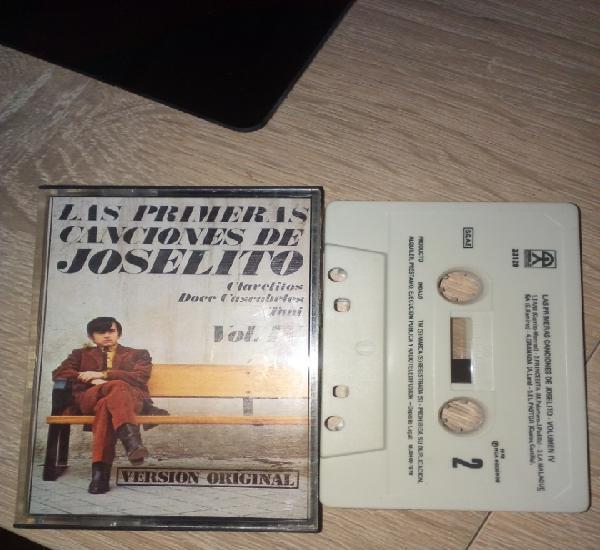 Las primeras canciones de joselito casete