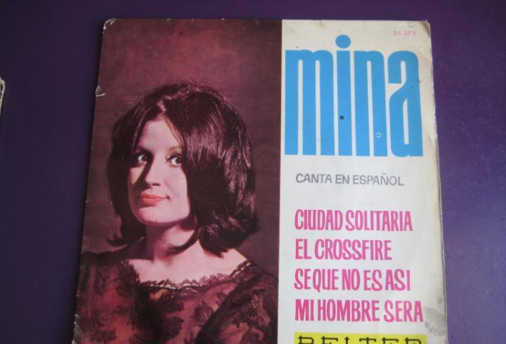 Mina ep belter 1964 canta en español - ciudad solitaria/ el