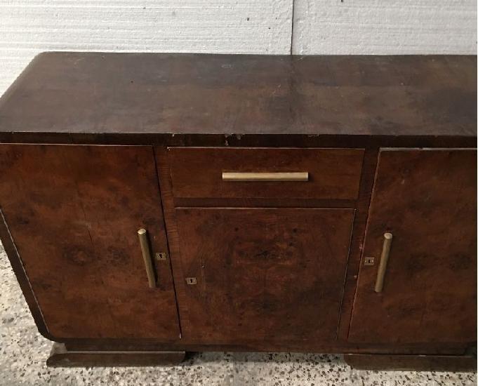 Mesa comedor estilo castellano artesanal y muebles año 1930