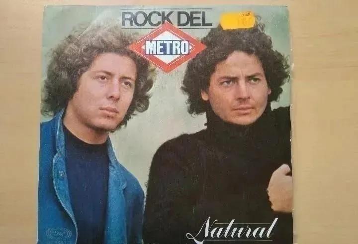 Natural - rock del metro (sg) 1980