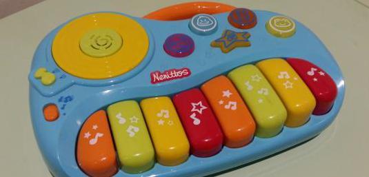 Nenittos teclado infantil con sonidos de animales