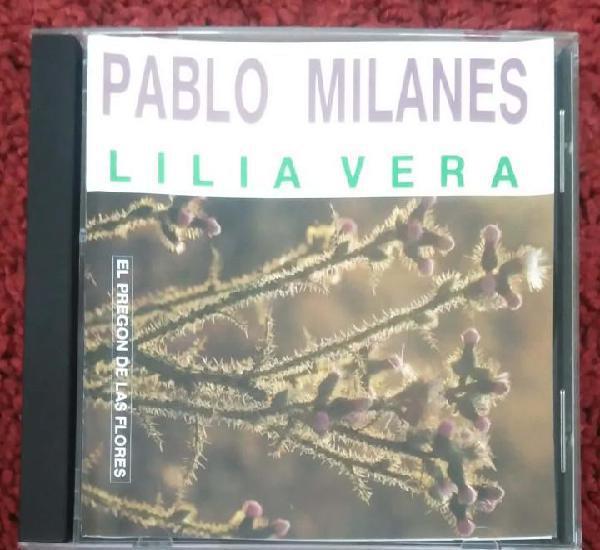 Pablo milanes & lilia vera (el pregon de las flores) cd 1994