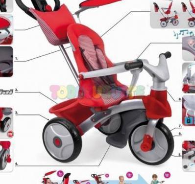 Triciclo baby trike easy evolution
