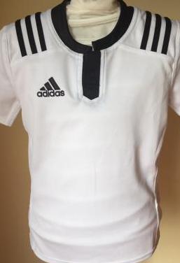 Camiseta niño adidas blanco negro