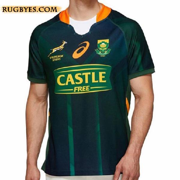 Camiseta sudafrica springbok 7s rugby 2020
