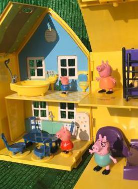 Casa de pepa pig con muñecos