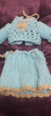 Conjunto ropa muñeca