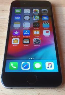 Iphone 6s 64gb gris
