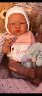 Muñeca bebe reborn vinilo niña u