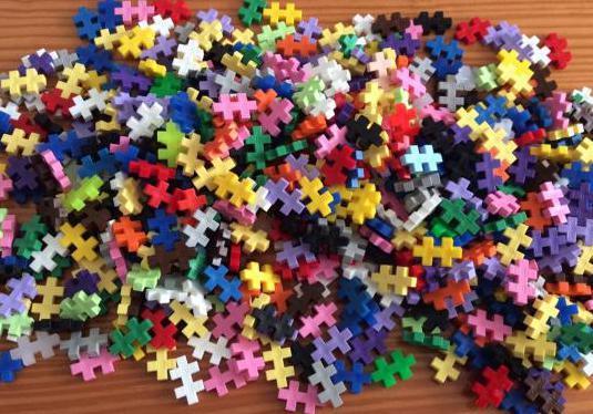 Plus puzzle de construcción