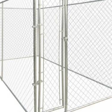 141396 perrera jaula de exterior 4x2 m