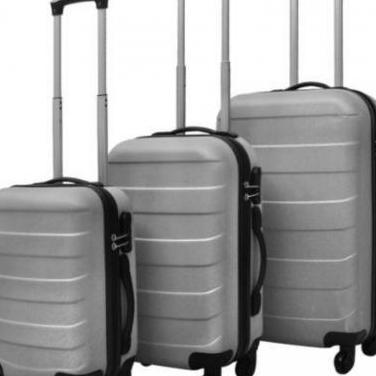 91142 juego de maletas rígidas de 3 piezas pla...
