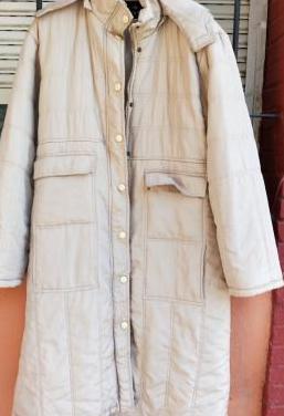 Abrigo largo enguatado