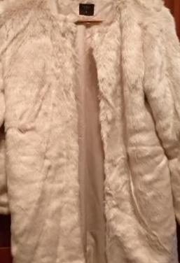 Abrigo de pelo tiffosi talla s