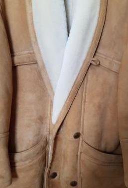 Abrigo piel ovina made in italy