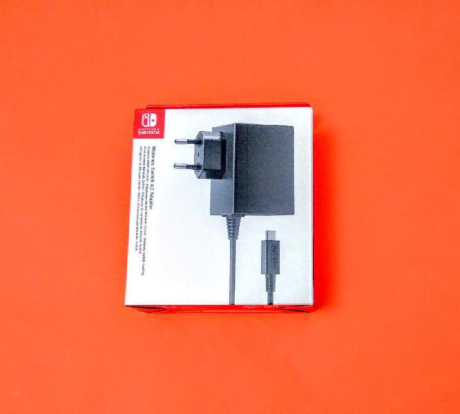 Adaptador de corriente para nintendo switch nuevo