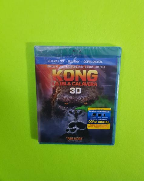 Blu-ray kong la isla calavera 3d
